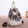Original national style Chinese style canvas new handmade backpack travel retro backpack literary art cloth women bag