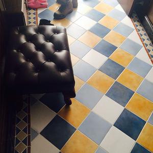 卫生间瓷砖美式仿古砖厨房墙砖欧式地中海简约现代阳台厕所地砖