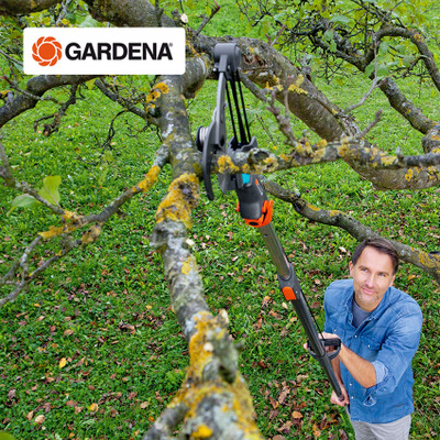Germany imported GARDENA GARDENA retractable thick branch high-altitude high branch shears
