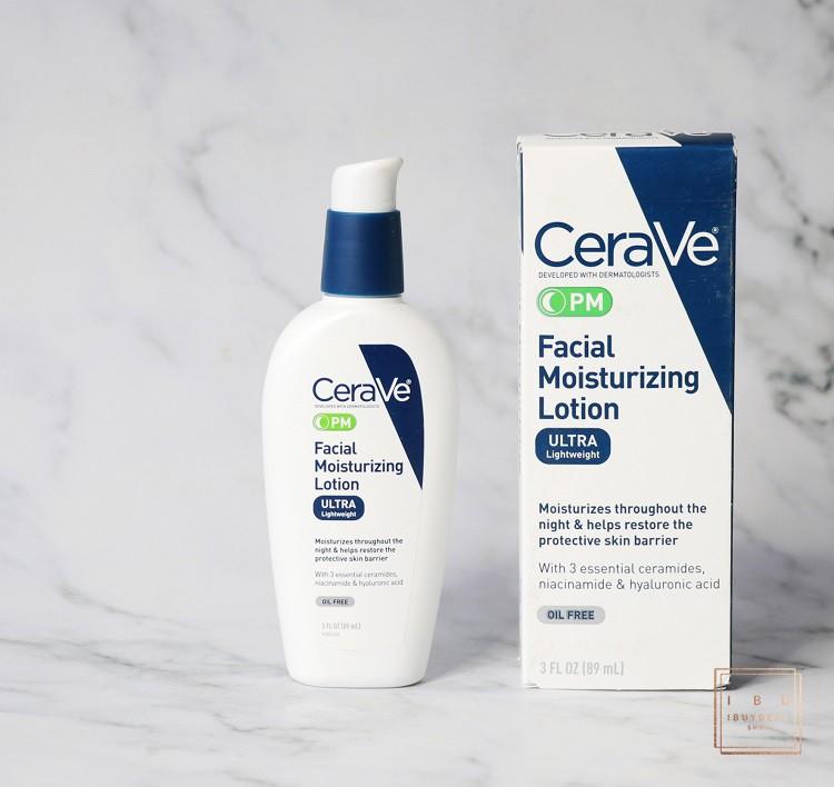 【保税仓发】CeraVe PM Facial  夜间保湿修复乳液 89ML/现货