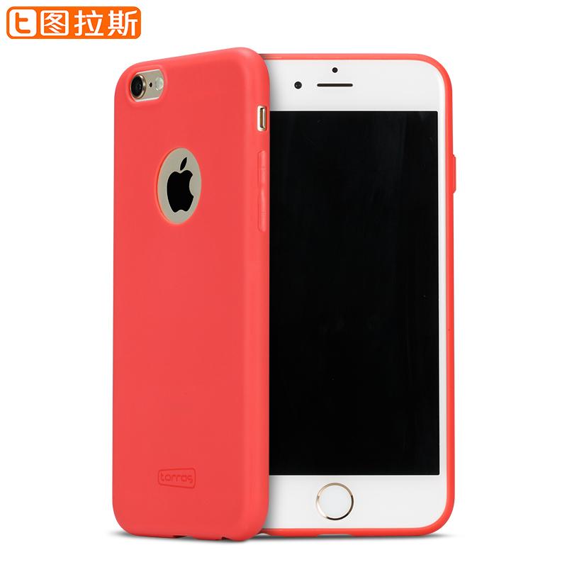 圖拉斯iPhone6手機殼蘋果6Plus套6s日韓矽膠磨砂P超薄軟膠iP6潮男