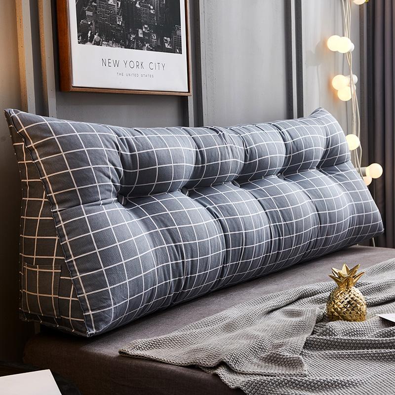 床头靠垫双人三角大靠背榻榻米软包沙发抱枕靠垫床靠垫背护腰靠枕