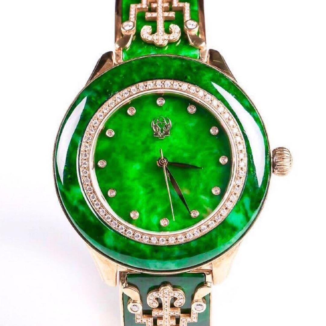 ミャンマー翡翠の腕時計のペンダントのネックレス観音のペンダントの仏のペンダントの腕輪の生放送の間でお金を支払う専用のリンク