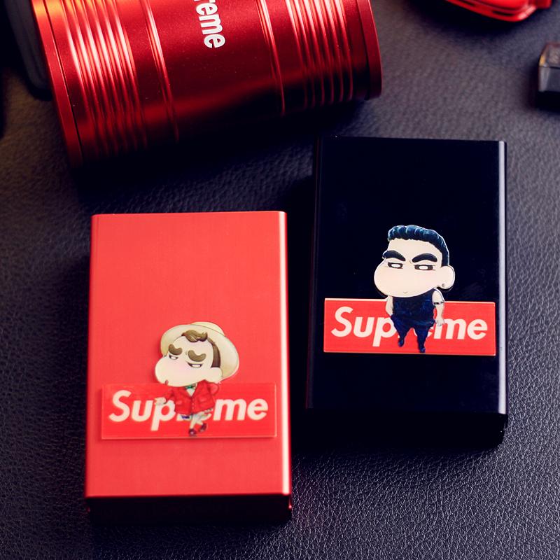潮牌卡通烟盒蜡笔小新男女士香菸盒19.80元包邮