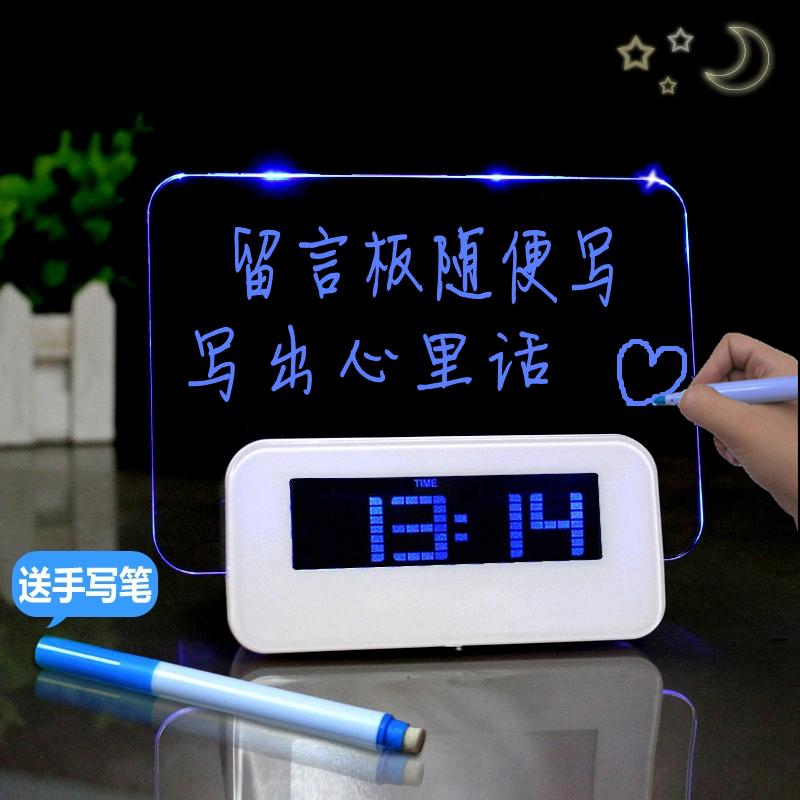 ��意留言板�[���s��性可��和��W生多功能床�^�o音LED�子�r�