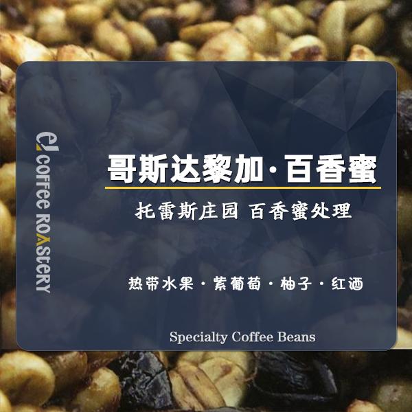哥斯达黎加百香蜜Rivense处理厂手冲咖啡豆可磨咖啡粉200g易爵EJ