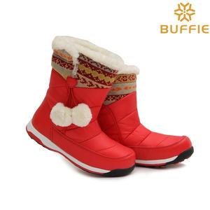中筒女 童靴子 二棉鞋 旅游拍照鞋 保暖长毛绒内里 防滑鞋底清仓