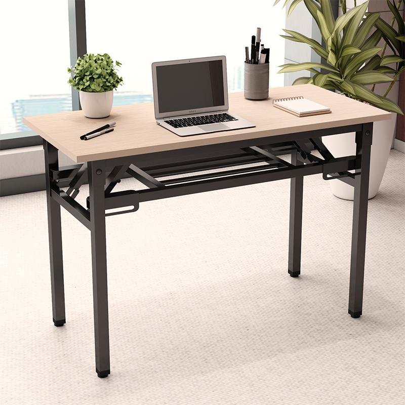 折叠桌活动桌子长条桌会议培训桌户外家用餐桌便携电脑组合ibm桌