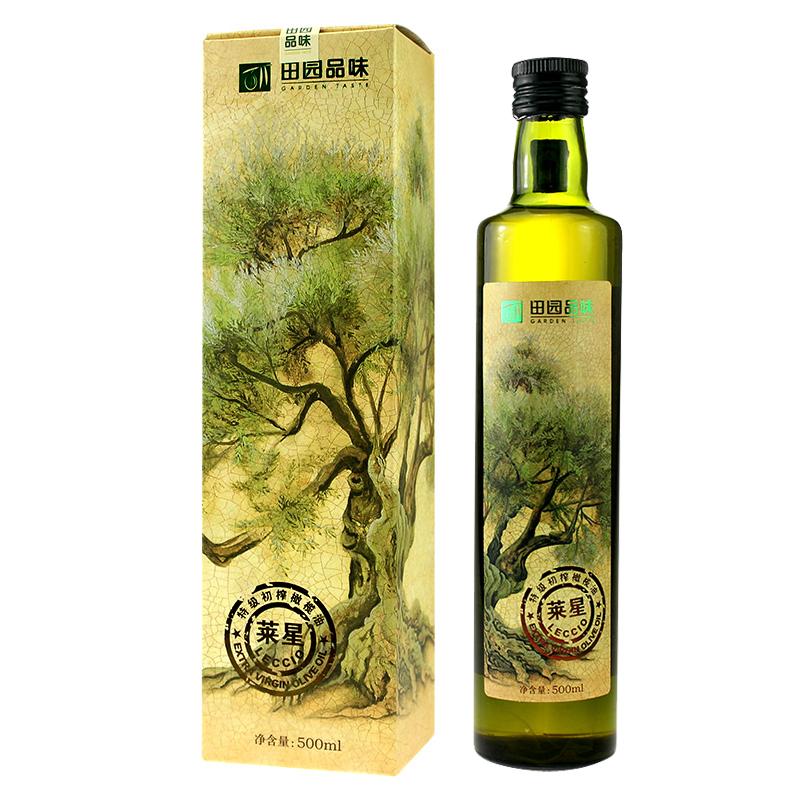 Rural taste Laixing Organic Extra Virgin Olive Oil 500ml Longnan Wudu specialty cold oil oral oil