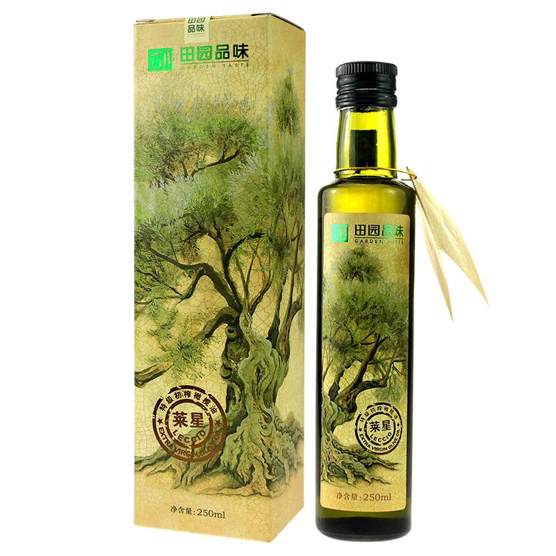 Rural taste extra virgin olive oil single variety (Laixing) organic green 250ml Wudu specialty