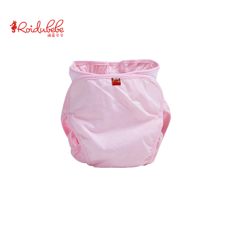 Baby diapers breathable thin cotton leak proof diapers baby diaper pocket washable summer diaper pad