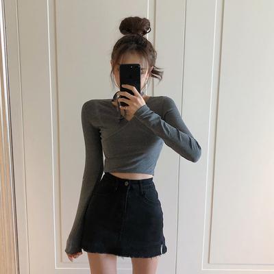 高腰女春装2020新款港味chic半身裙