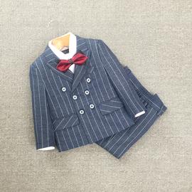 男童西装套装秋新款儿童礼服宝宝小西装英伦花童主持生日演出休闲图片
