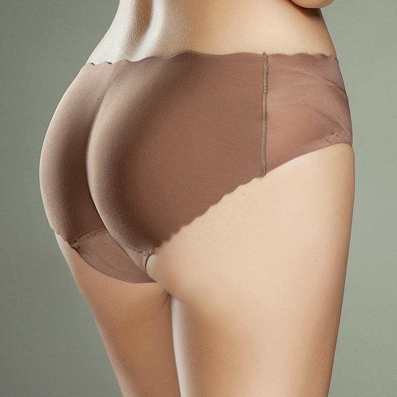 女无痕自然隐形加厚假屁股翘臀蜜桃假臀垫增臀部美臀丰臀提臀内裤