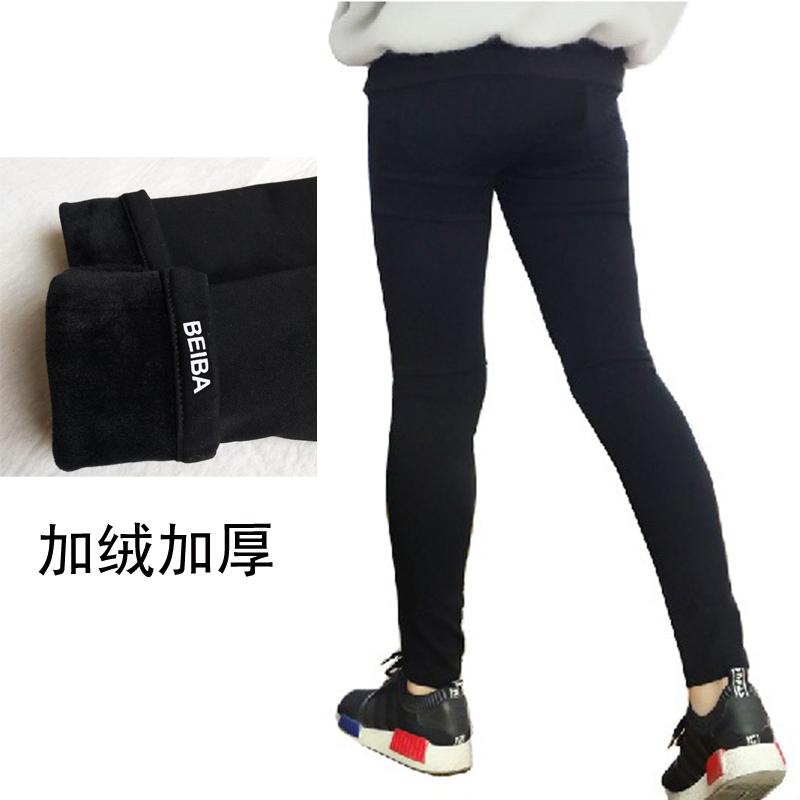 2021 spring and autumn girls black leggings