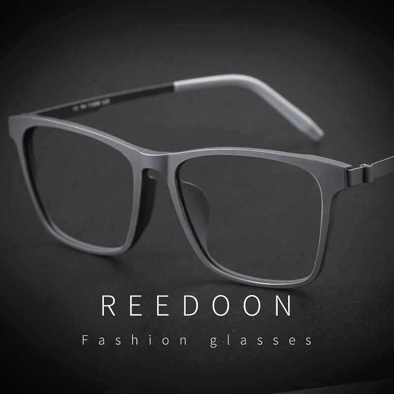 纯钛近视眼镜男成品有度数配眼镜框女全框大脸超轻黑框学生眼镜架