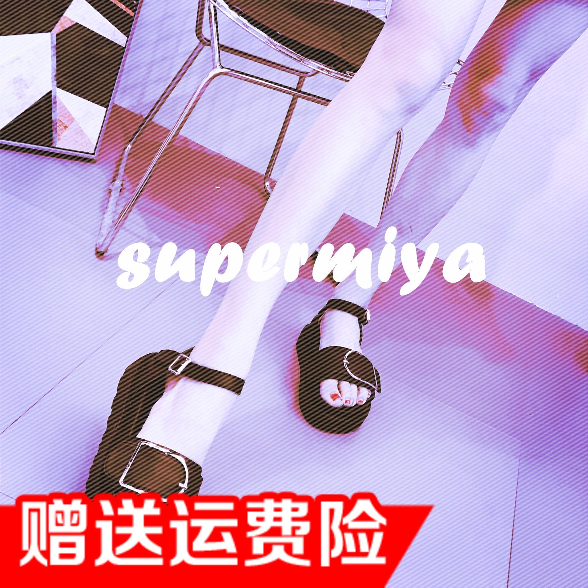 2018新款日系原宿潮酷港味ins韩国风街头松糕厚底罗马显瘦女凉鞋