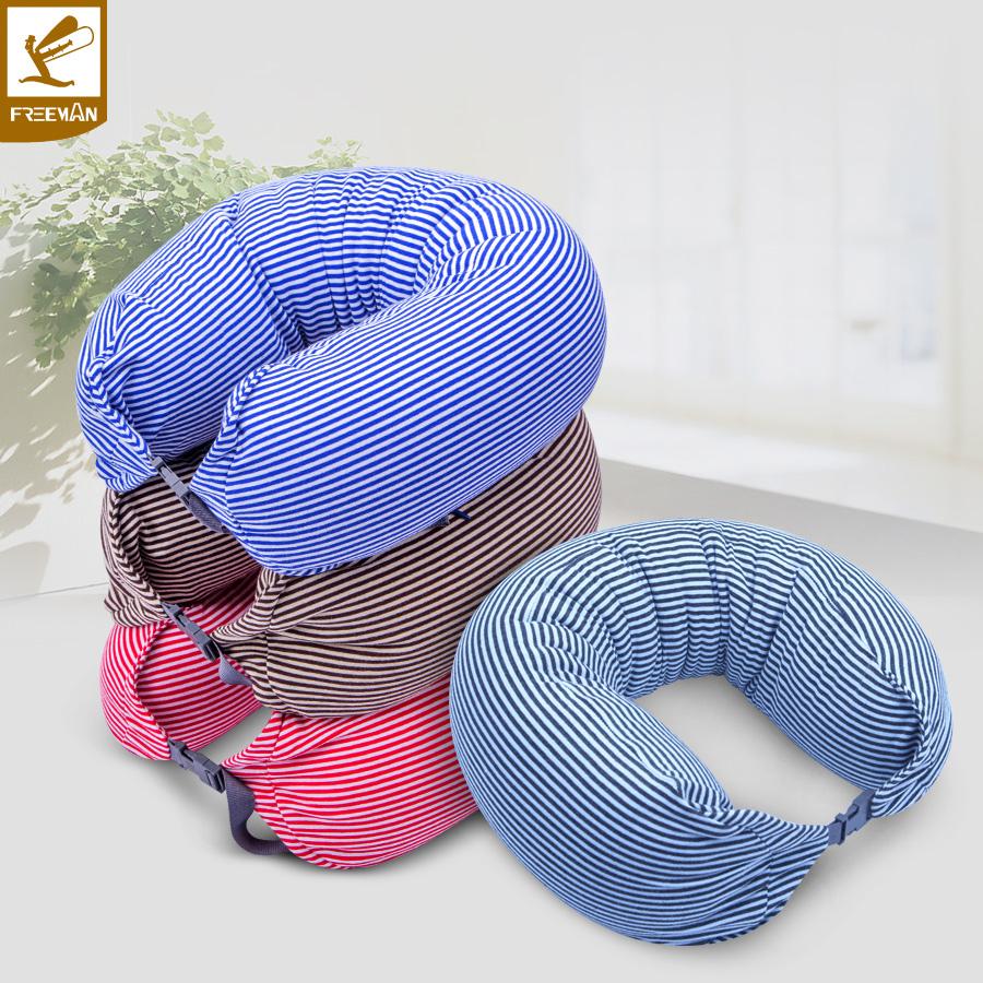 自由人 汽車u型枕護頸枕汽車頭枕 車用靠枕汽車枕頭 旅行午休枕頭