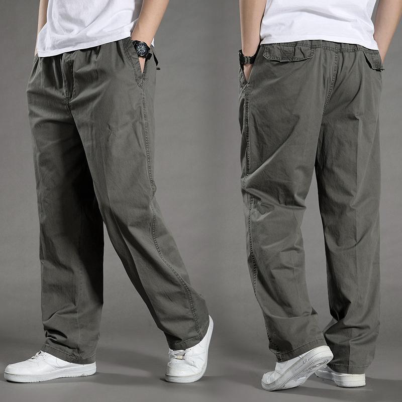 代购夏季薄款直筒运动工装长裤