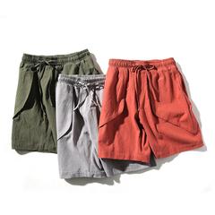 2017新款三色短裤 夏天爆款 松紧款 沙滩裤 支持活动DK13 P35