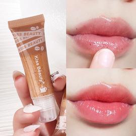 kiss beauty咖啡唇部磨砂膏 去角質去死皮淡化唇紋保濕護理嫩唇膏圖片