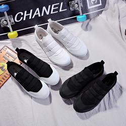 帆布鞋秋季男低帮男鞋韩版透气休闲板鞋单鞋黑鞋子70523P35