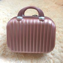 迷你手提箱子小行李箱女小旅行箱14寸化妆包16寸可爱大容量收纳包