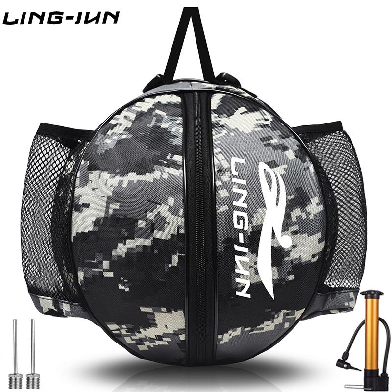 天猫 单肩双肩篮球包 足球训练运动背包 篮球袋 网兜排球网袋包邮