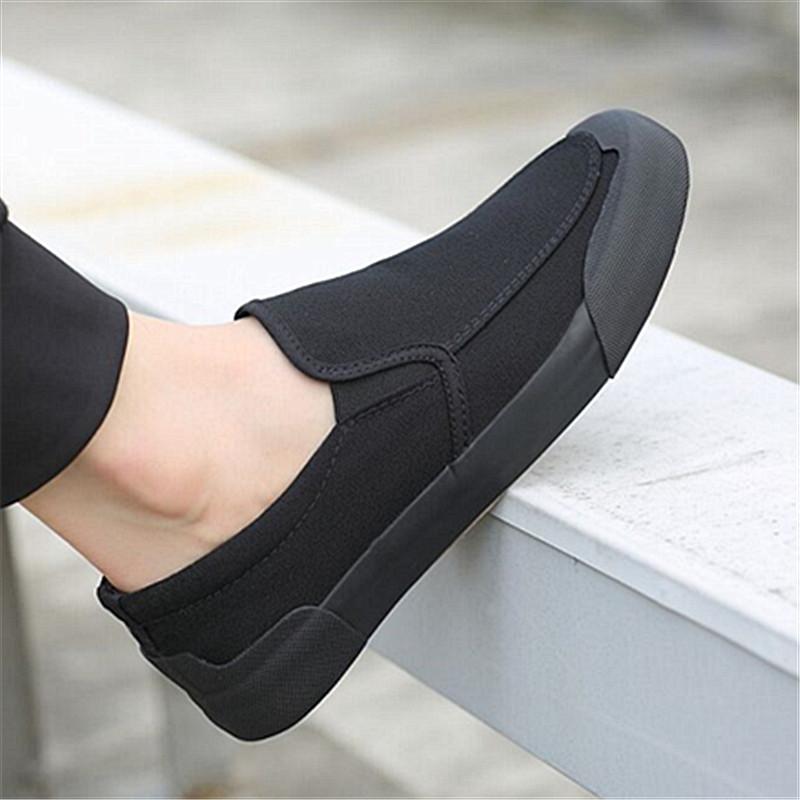 帆布鞋男夏季老北京布鞋男工作鞋韩版潮流黑色休闲鞋防臭透气男鞋