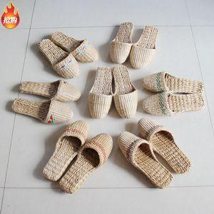 纯手工编织蒲草拖鞋居家男女鞋草鞋草编鞋出口时尚鞋子凉鞋礼品