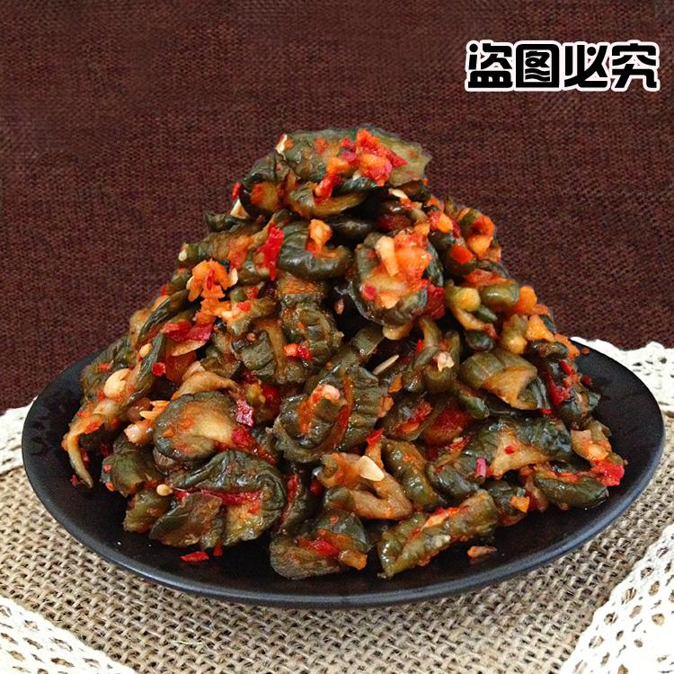 凌罗岛黄瓜泡菜 正宗朝鲜风味咸菜下饭菜 韩国小菜 韩式拌菜150g