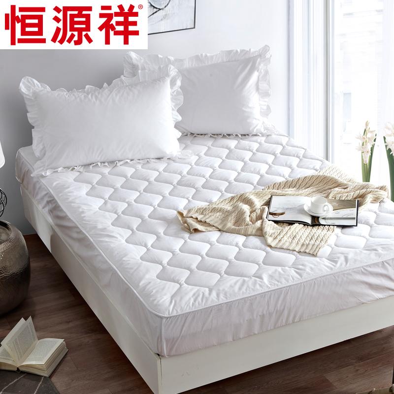 恒源祥羊毛床垫床褥子100纯羊毛1.5m床冬厚垫被双人保暖1.8米正品,可领取30元天猫优惠券