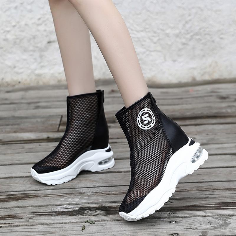 限10000张券包头女夏新款休闲气垫运动网面凉鞋