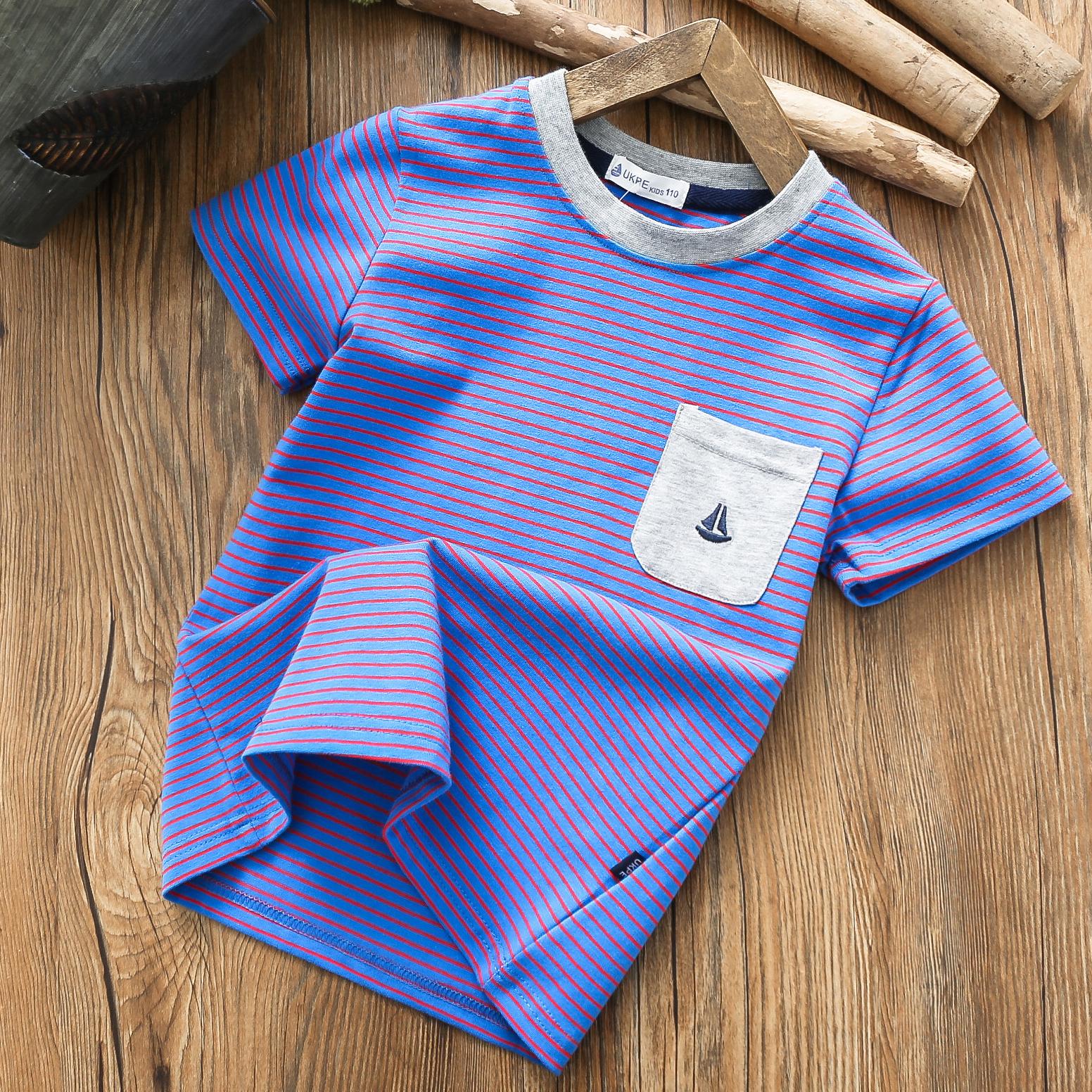 限8000张券男童短袖纯棉儿童夏季体恤衫t恤