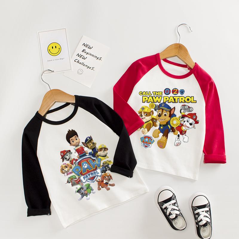 10月13日最新优惠旺旺队童装儿童长袖纯棉t恤打底衫