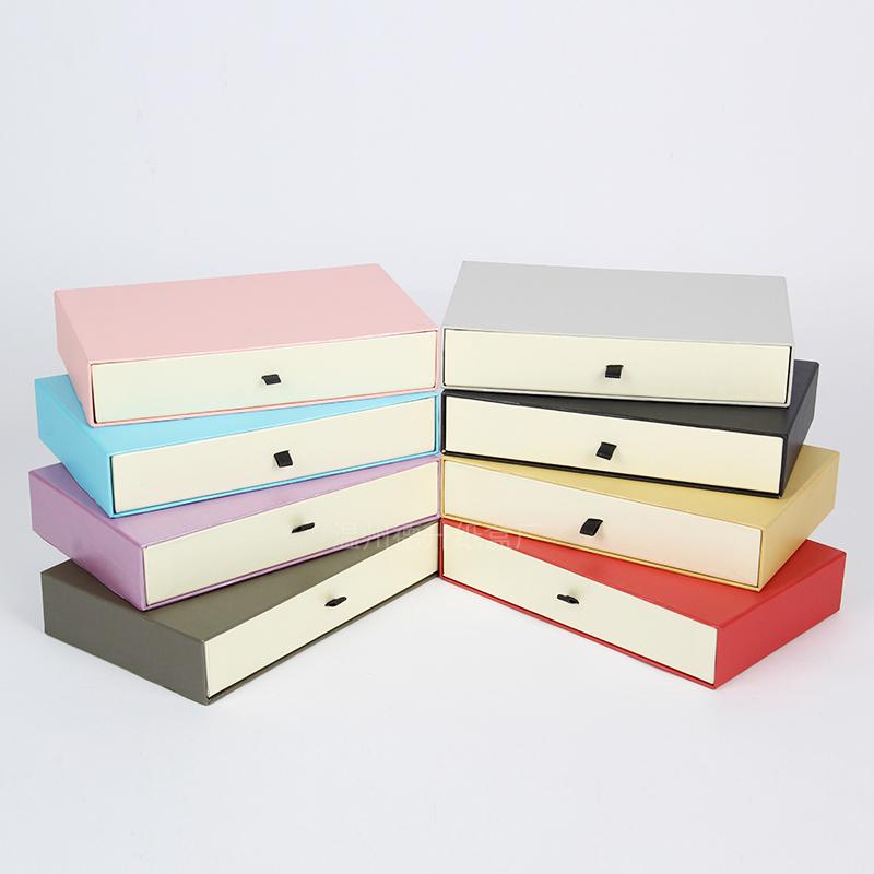 精美现货包装盒礼品盒长方形手抓包长款钱包盒皮具丝巾礼品包装