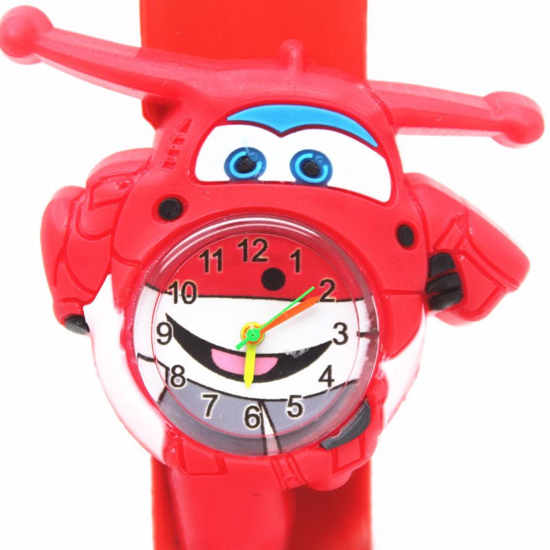Silicone pat animal childrens watch tiger electronic movement detachable caterpillar knight errant car childrens Watch