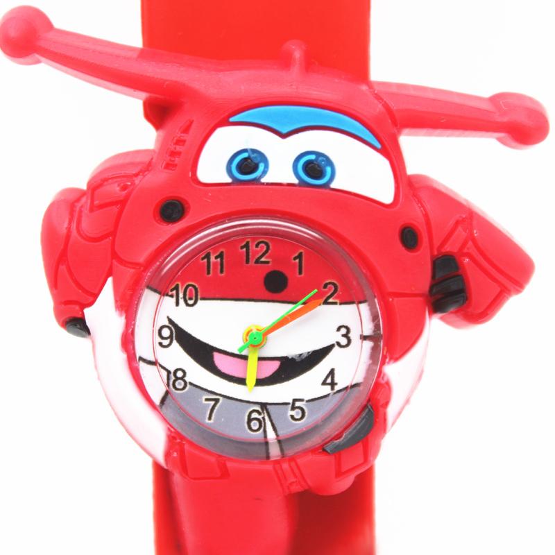 硅胶拍拍动物儿童手表老虎电子机芯可拆卸毛毛虫飞侠汽车幼儿手表