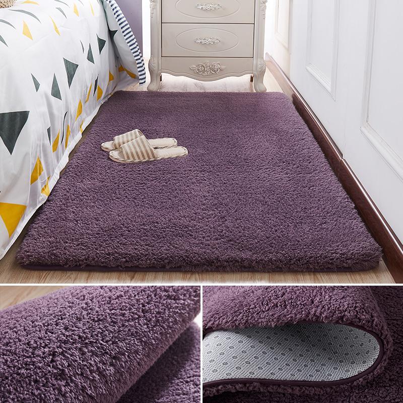 宜家用卧室床边网红ins客厅地垫(非品牌)