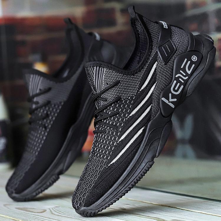 中國代購|中國批發-ibuy99|男士鞋子|鞋子新款鞋飞织透气休闲鞋男装韩式青少年学生男士时尚潮软底运动