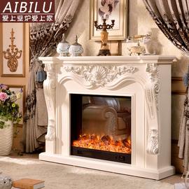 欧式壁炉 美式乡村壁炉装饰柜 炉芯装饰架 客厅装饰1.3/1.6米壁炉图片