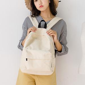 梵花不语原创新款帆布包女学院风双肩包女包背包电脑包学生书包