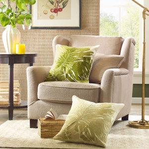 Harbor House印度进口热带植物绣花靠垫套 客厅卧室抱枕套Jolie