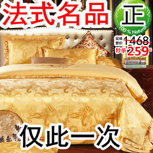 欧式床品高档奢华高端大气四件套全棉纯棉床单被套网红款床上用品