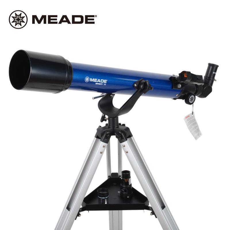 米国MEADEミッド天文望遠鏡70 AZハイビジョン5000学生科学普及入門