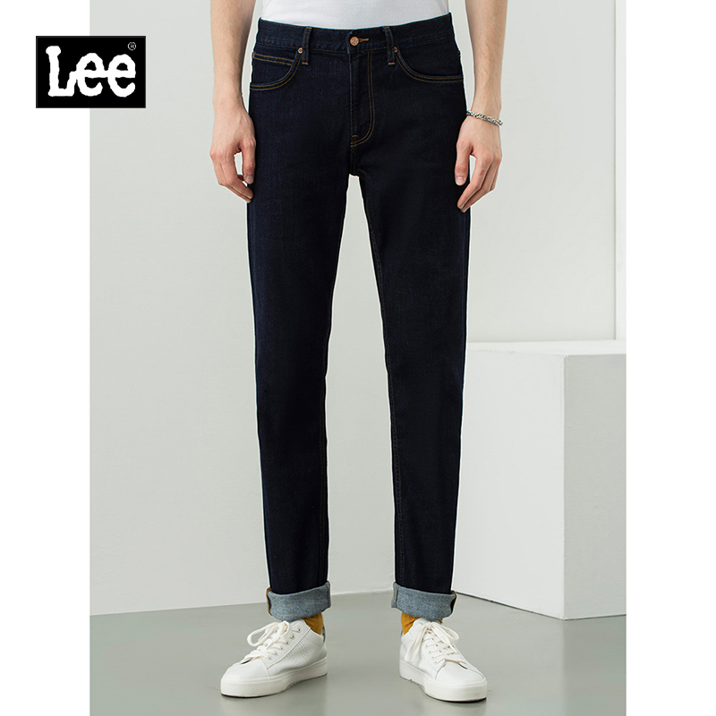 Lee shopping mall with 20 new products 723 version slim straight dark blue men's jeans LMR7233MK898