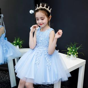 公主裙女童连衣裙童装宝宝洋气女孩夏款儿童裙子夏装蓬蓬纱裙夏季