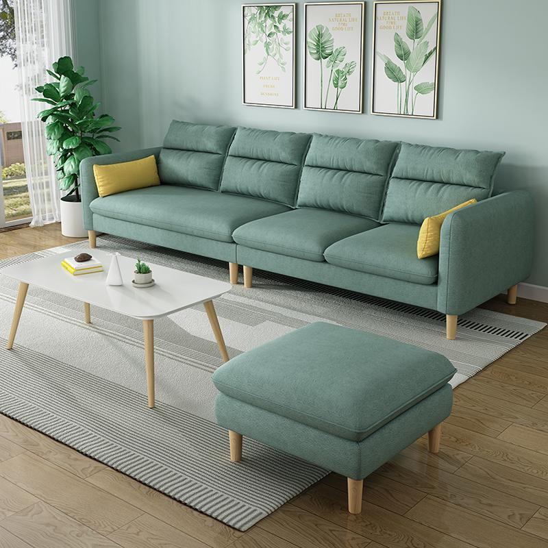简约日式北欧小户型三四人位沙发