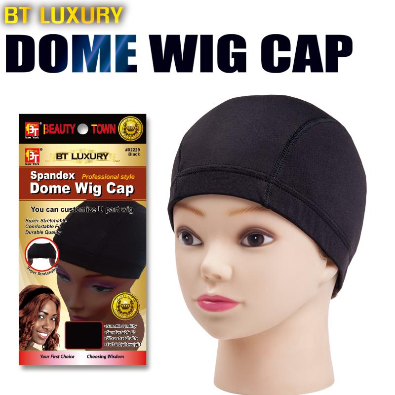 Парик крышка оптовая торговля волосы крышка эластичность парики переиздание чистый Spandex Dome Wig Cap