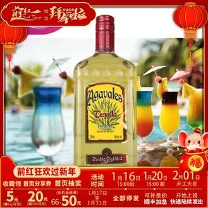 洋酒阿卡维拉斯金龙舌兰酒墨西哥龙舌兰酒特基拉Tequila750ml